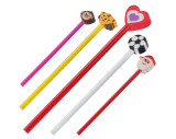 Bleistifte mit verschiedenen Köpfen