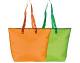 Strandtasche mit transparenten Henkeln